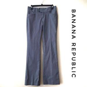 BANANA REPUBLIC THE SLOAN FIT Stretch Gray Sz 2